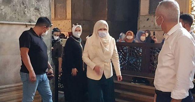 İYİ Parti Genel Başkanı Akşener Ayasofya-i Kebir Cami-i Şerifi'ni ziyaret etti