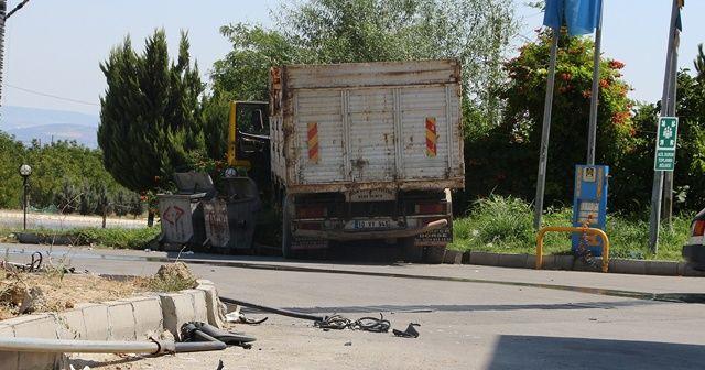 Kendi kullandığı kamyonun altında kalan genç hayatını kaybetti