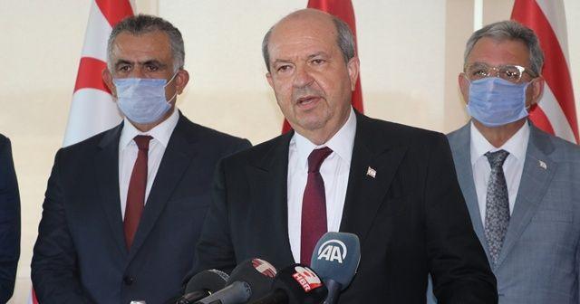 KKTC Başbakanı Tatar, Türkiye ziyareti dönüşü açıklamalarda bulundu