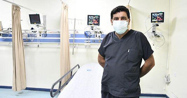 Kovid-19'u yenerek görevine dönen sağlık çalışanı darbedildi
