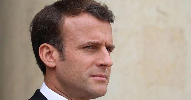 """Macron: """"Lübnan'ı bölgesel güçlerin çalkantılarına bırakırsak sivil savaş çıkar"""""""
