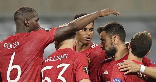 Manchester United, UEFA Avrupa Ligi'nde yarı finale çıktı