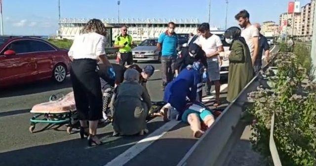 Minibüs'ün çarptığı kadın hayatını kaybetti
