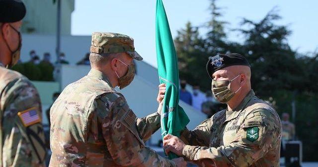 NATO Müttefik Kara Komutanlığında devir teslim töreni