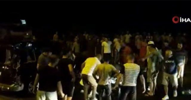 Nazilli'de feci kaza: Manevra yapan kamyonet gencin üzerine devrildi