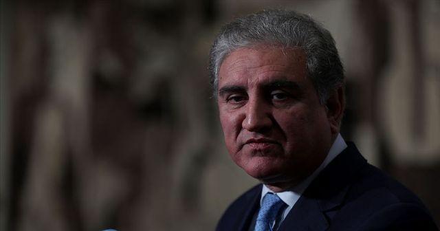 Pakistan Dışişleri Bakanı Kureyşi'den Suudi Arabistan'a Cammu Keşmir tepkisi