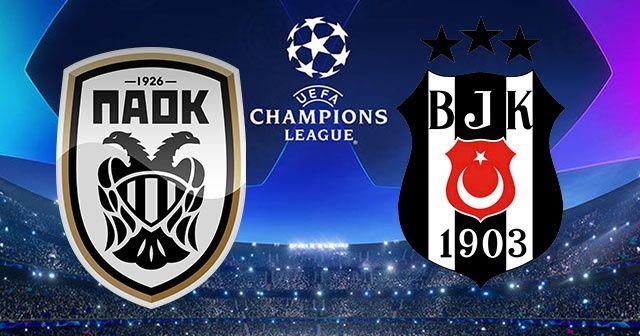 PAOK Bjk maçı şifresiz canlı izle! Paok Beşiktaş maçı hangi kanaldan yayınlanacak? Beşiktaş maçı şifreli mi?