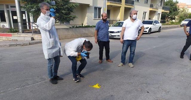 Polisin ayağını kıran saldırgan vurularak etkisiz hale getirildi