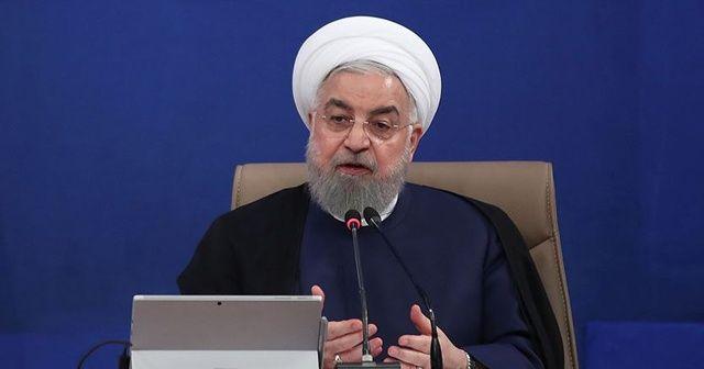 Ruhani'den Trump'ın anlaşma açıklamasına tepki