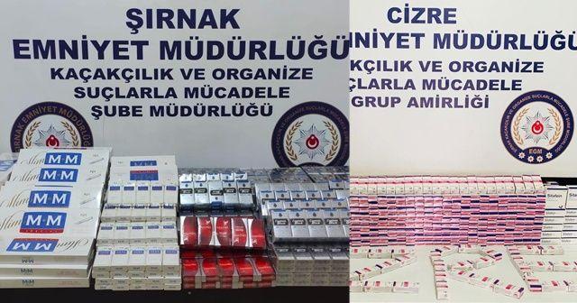Şırnak'ta kaçakçılık operasyonu: 25 gözaltı