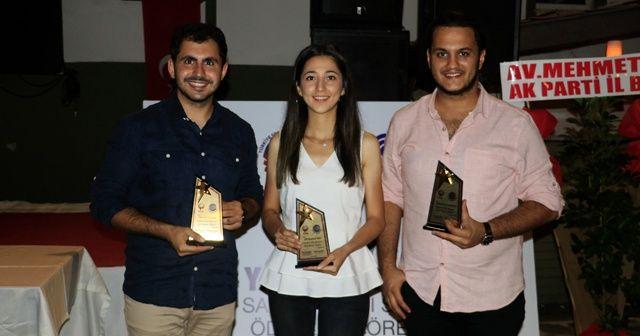 TSYD ödüllerinde İHA muhabirleri 3 ayrı kategoride ödül aldı