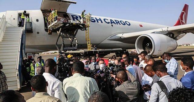 Türkiye'den Kovid-19'la mücadele için Sudan'a tıbbi yardım