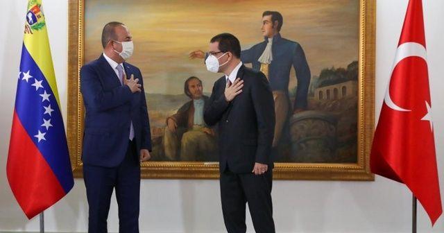 Türkiye ile Venezuela arasında 4 anlaşma imzalandı