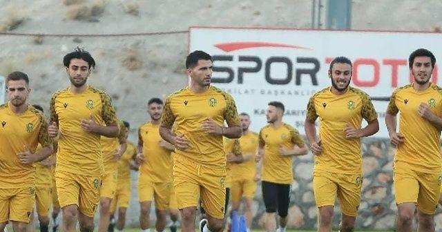 Yeni Malatyaspor hazırlıklarını Malatya'da sürdürüyor