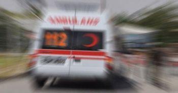 81 yaşındaki sürücü trafik kazasında yaralandı