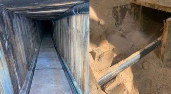 ABD-Meksika sınırında tünel bulundu