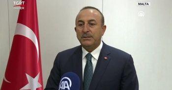 Bakan Çavuşoğlu'ndan Yunanistan-Mısır anlaşmasına tepki