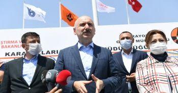 Bakan Karaismailoğlu'ndan güçlü ekonomi mesajı: Projelerimiz sorunsuz devam ediyor