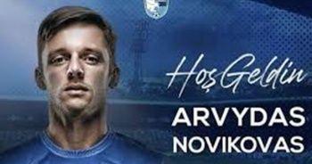 BB Erzurumspor, Arvydas Novikovas'ı renklerine bağladı