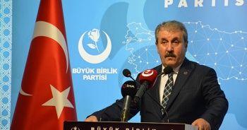 BBP Genel Başkanı Destici'den doğalgaz açıklaması