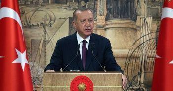 Cumhurbaşkanı Erdoğan, Dolmabahçe Çalışma Ofisi'nden ayrıldı