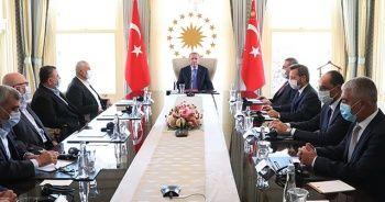Cumhurbaşkanı Erdoğan, Hamas Siyasi Büro Başkanı'nı kabul etti