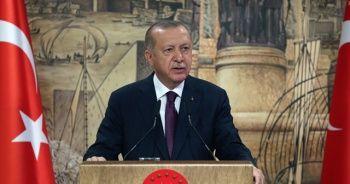 Cumhurbaşkanı Erdoğan: 'Türkiye tarihinin en büyük doğalgaz keşfini Karadeniz'de gerçekleştirdi'