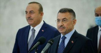 Cumhurbaşkanı Yardımcısı Oktay: Mersin Limanımızın Lübnan'ın hizmetinde olacağını ifade ettik