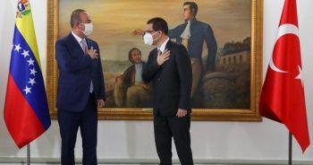 Dışişleri Bakanı Çavuşoğlu Venezuela'da