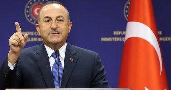 Dışişleri Bakanı Mevlüt Çavuşoğlu: Doğu Akdeniz'de gerilimi arttıran Yunanistan'dır