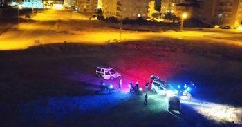 Drift atarken polise yakalandılar