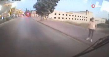 Durdurduğu otobüse binmeyen yolcu bakın ne yaptı!