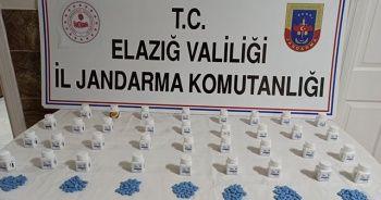 Elazığ'da bin adet uyuşturucu hap ele geçirildi