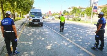 Elazığ'da minibüs ve otobüsler denetlendi