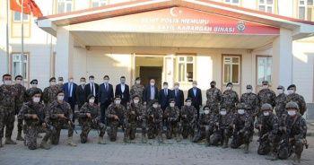 Emniyet Genel Müdürü Aktaş Azez'de, Suriye Görev Gücündeki güvenlik güçlerini ziyaret etti