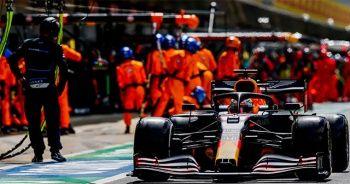 Formula 1'de 70'inci Yıl Dönümü Prix'sinin kazananı Honda oldu
