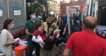 Gaziosmanpaşa'da Özel İstanbul Şafak Hastanesinin duvarı çöktü