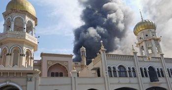 Güney Afrika'da 139 yıllık camide yangın