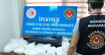 Irak'tan gelen bir tırda 18 kilogram uyuşturucu yakalandı