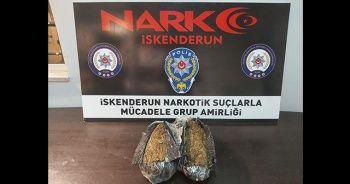 İskenderun'da şüpheli şahısların üzerinde 3 kilo 800 gram uyuşturucu yakalandı