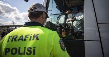 İstanbul'da 3 günlük denetimlerde 9 bin 317 işlem uygulandı