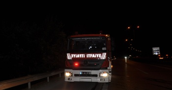 Kartal'da yangına müdahale etmeye çalışan itfaiye personeline ateş açtılar