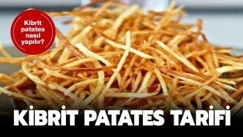 Kibrit Çöpü Patates Tarifi / Kibrit Patates Nasıl Yapılır?