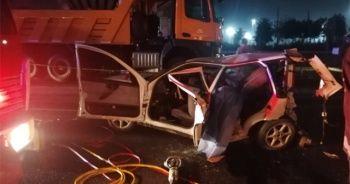 Kocaeli TEM Otoyolu'nda feci kaza: 3 ölü 2 yaralı