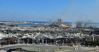 """Lübnan Cumhurbaşkanı: """"Patlamanın nedenleri netleşmedi; füze, bomba veya bir dış etken olabilir"""""""