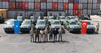 MSB: 12 adet arazi aracı Somali Genelkurmay Başkanlığına teslim edildi