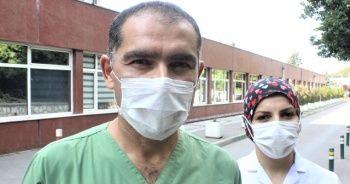 Ölümden dönen sağlıkçı çift, korona hastalarına hizmet vermeye devam ediyor
