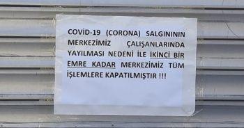 PTT Şubesi personelinde korona çıktı