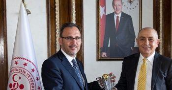 Süleyman Hurma'dan Bakan Kasapoğlu'na ziyaret