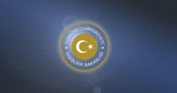 Türkiye'den Hindistan'a taziye mesajı